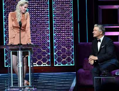 Ireland Baldwin Is Savage as a Surprise Roaster at 'Comedy Central Roast of Alec Baldwin'