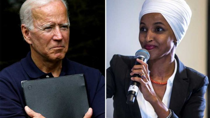 Ilhan Omar says Biden is not the candidate that will bring change