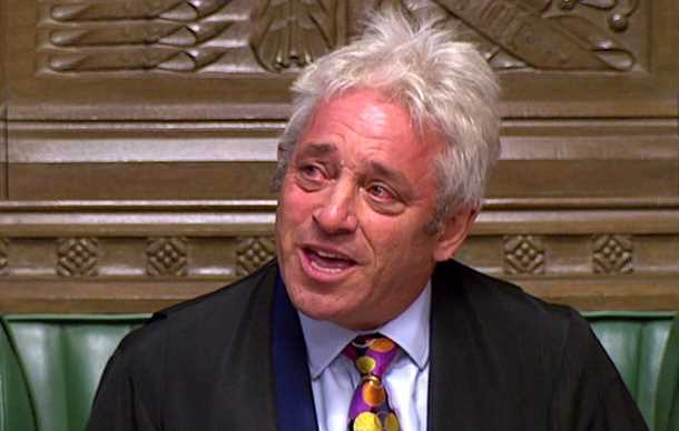 Tearful Remainer speaker John Bercow QUITS after Tories plot to oust him over Brexit