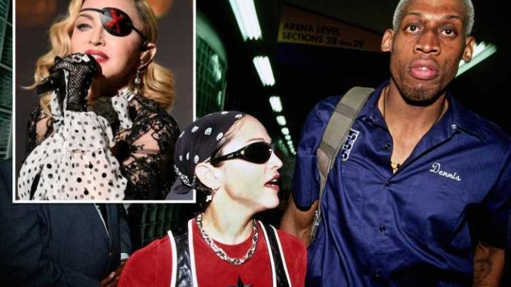 Dennis Rodman claims Madonna 'offered him $20 million to get her pregnant' – The Sun