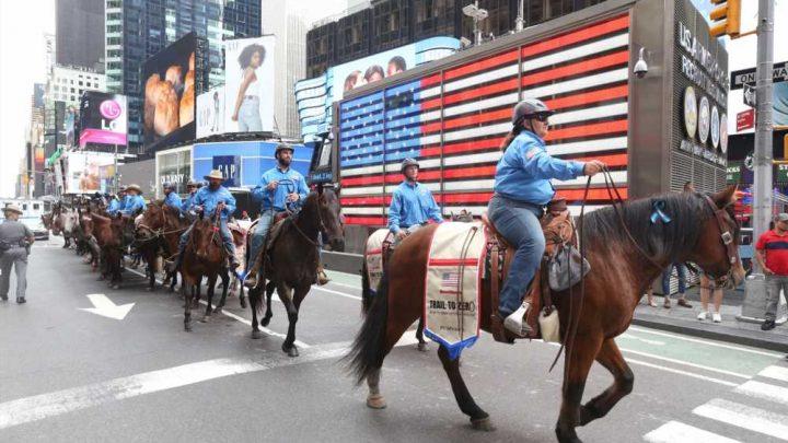Trail to Zero horseback ride raises awareness of veteran suicide epidemic