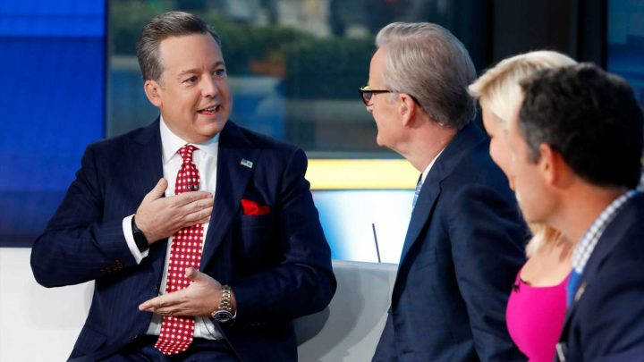 Ed Henry makes emotional return to 'Fox & Friends' after donating part of liver to sister