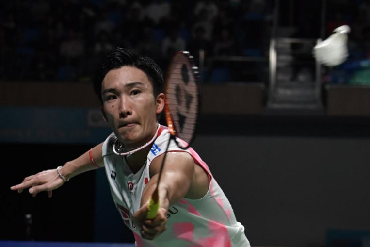Badminton: Japan's Kento Momota wins Korea Open, China's He Bingjiao takes women's title