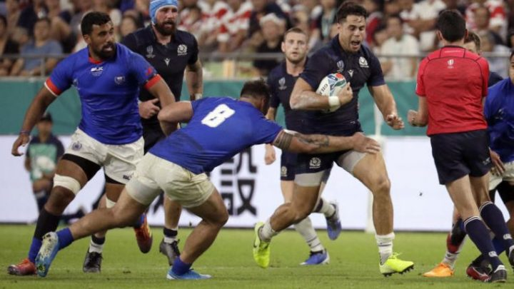 Rugby: Scotland alive and kicking after bonus-point win over Samoa at World Cup