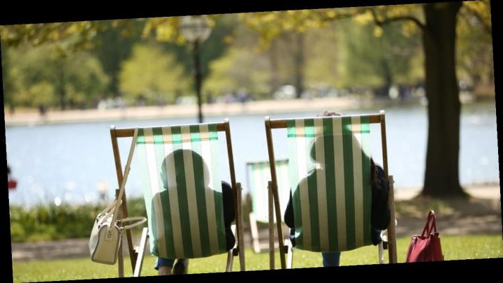 Three days of October sunshine to raise temperatures to 15C after downpours