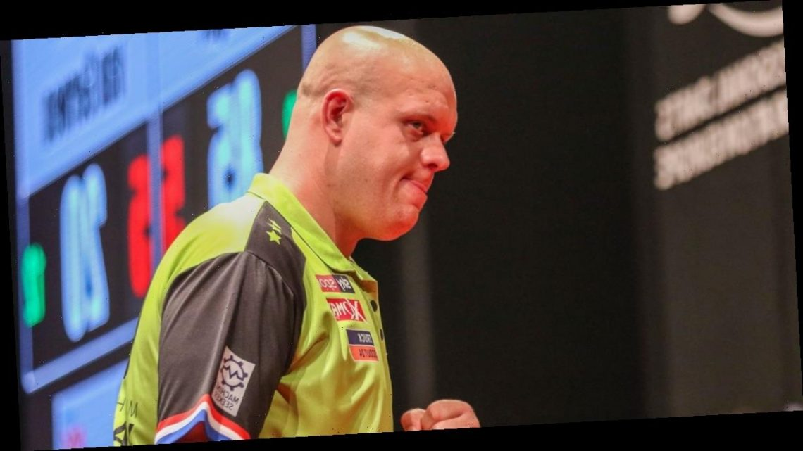 Michael van Gerwen fires back at Peter Wright's dig after final shootout