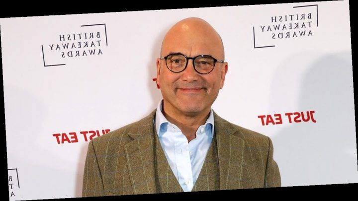 Gregg Wallace shows off his muscles after losing three stone