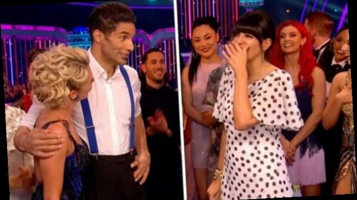 Strictly Come Dancing 2019: Claudia Winkleman red-faced after awkward David James gaffe