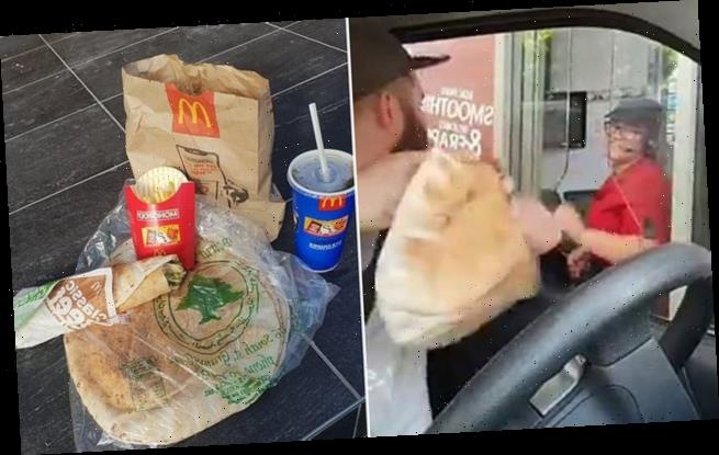 McDonald's customer talks staff into making him a 'Leb Mac'
