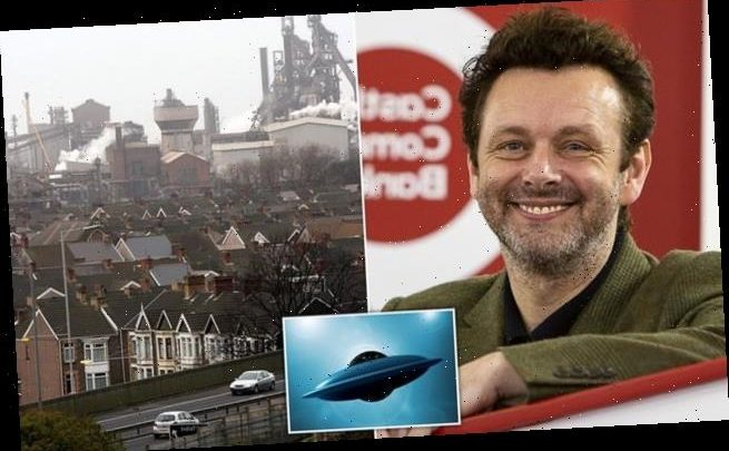 Michael Sheen claims his Welsh hometown is the British 'Area 51'