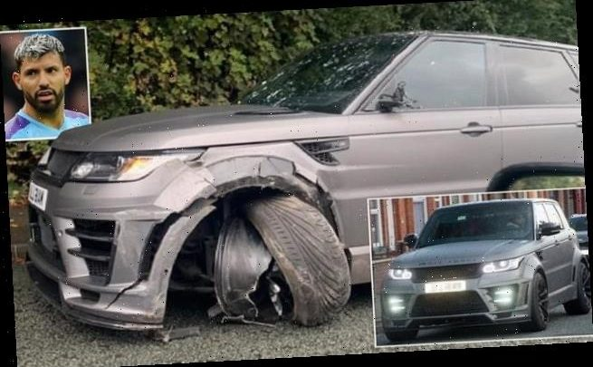 Aguero involved in car crash while on his way to Man City training