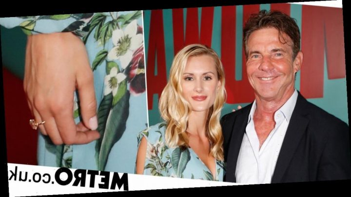 Dennis Quaid, 65, engaged to 26-year-old and it's The Parent Trap all over again