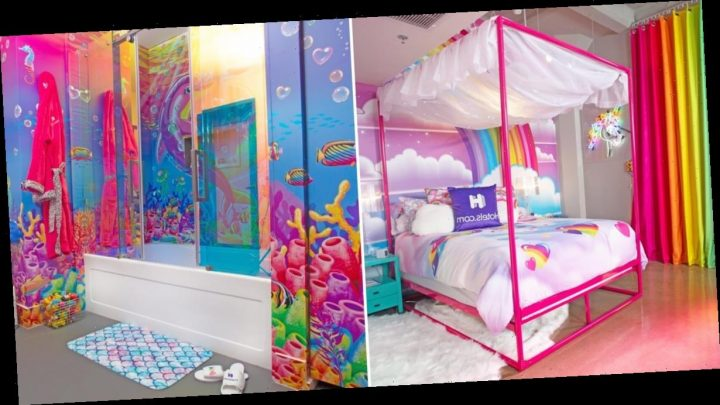This Lisa Frank Hotel Room Is Packed With More Nostalgia Than Your '90s Pencil Pouch