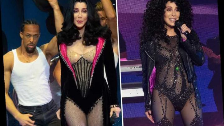 Cher calls 'bull****' on women who claim they're happy to grow old as she turns back time in sexy bodysuit for O2 show – The Sun