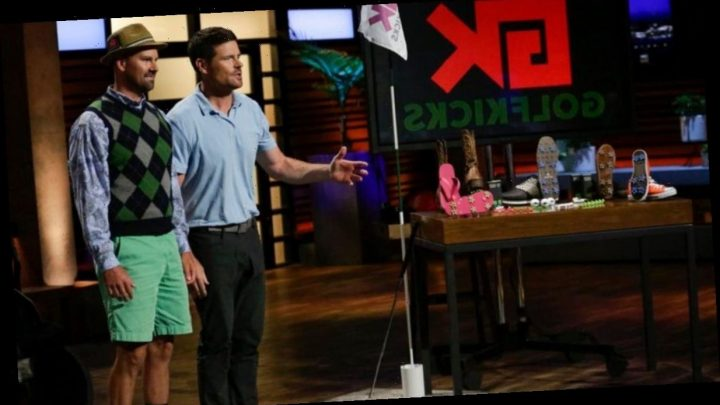 Golfkicks on Shark Tank: Traction kit transforms ordinary sneakers into golf shoes