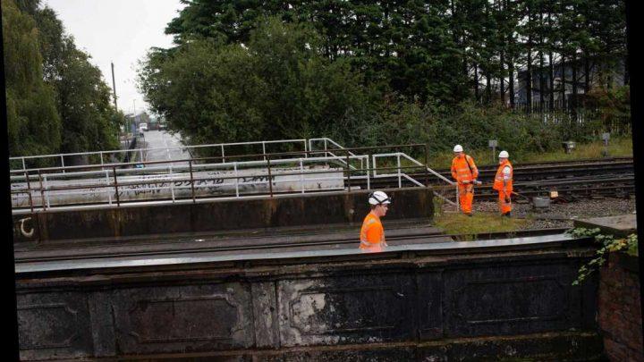 Hysterical schoolboy, 12, screamed 'help me, help me' after friend, 12, was electrocuted on railway tracks in Merseyside