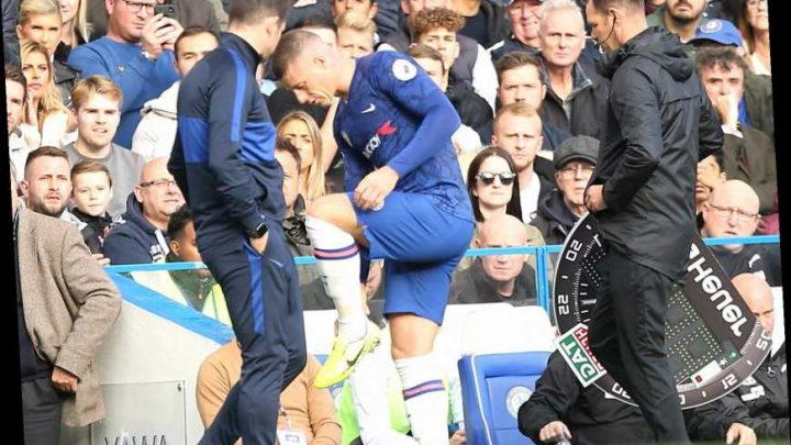 Barkley off after 42mins for Chelsea vs Newcastle and fans split over whether he's hurt or just been 'hooked' – The Sun