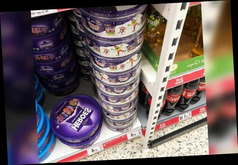 Asda is selling Christmas tins of Freddo chocolates for just £4