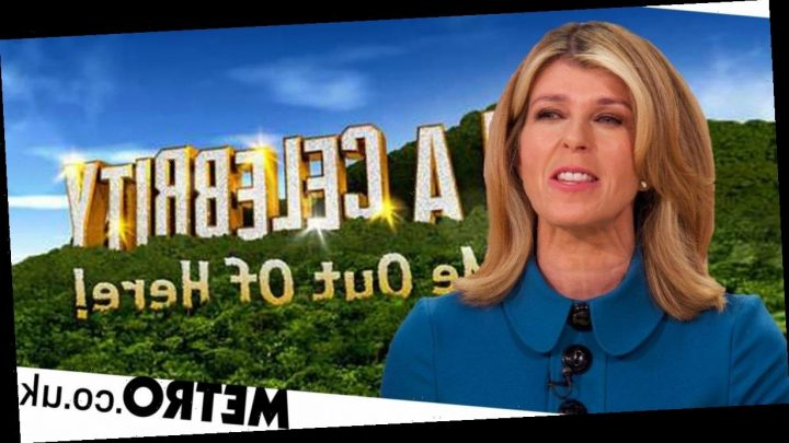 Kate Garraway squirms over 'kangaroo testicles' comment after I'm A Celeb rumour