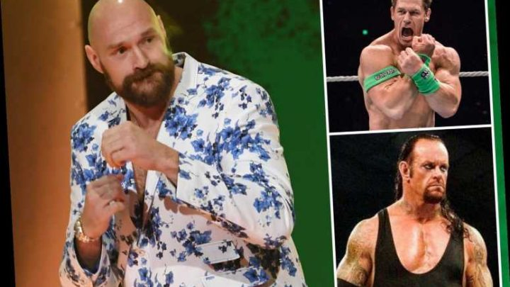 The Undertaker, John Cena and Goldberg set for reduced roles in WWE thanks to Tyson Fury's sensational switch – The Sun