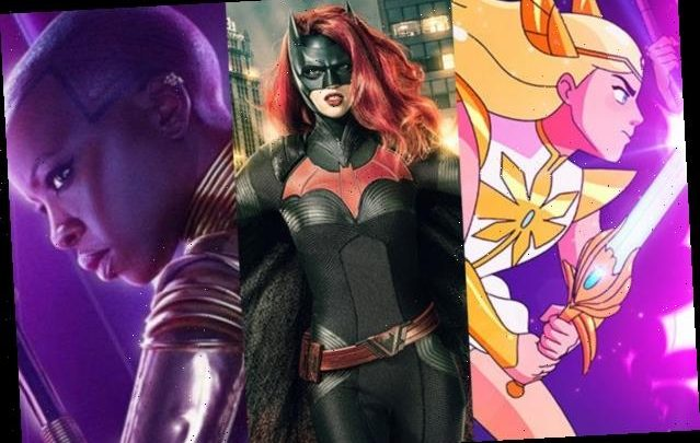 24 of the Most Memorable Female Superheroes, From Batwoman to Okoye to She-Ra and More
