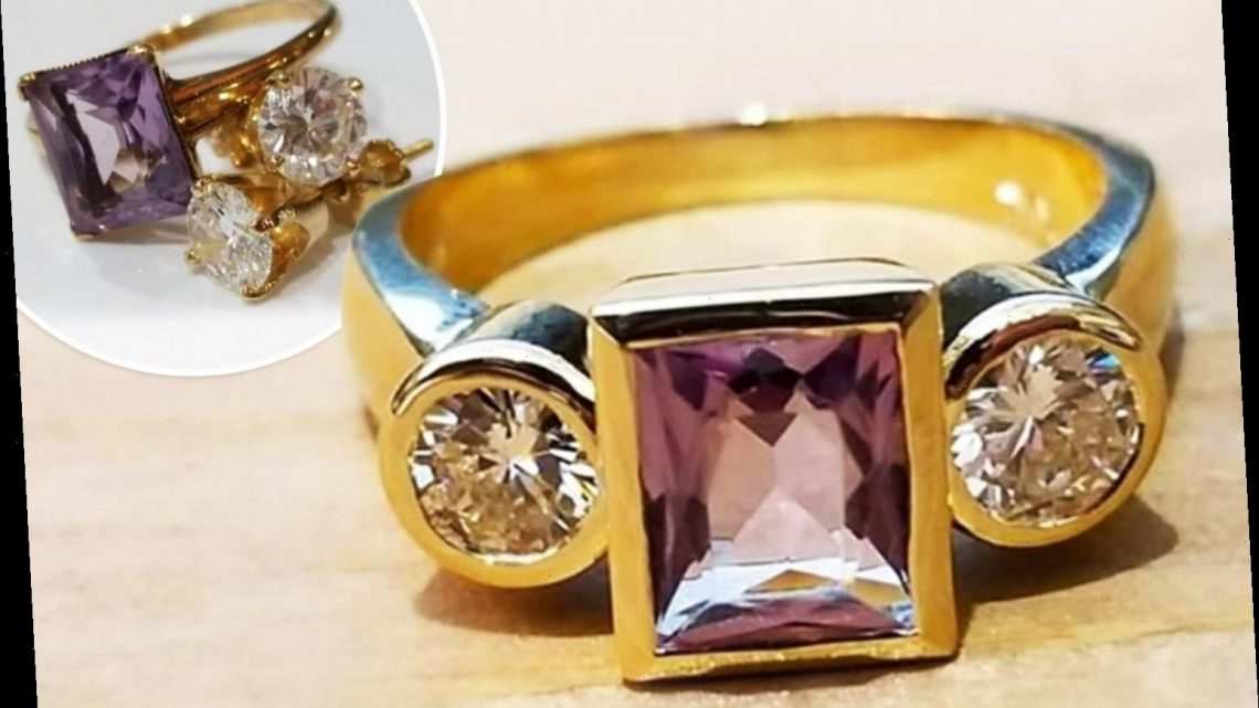 Woman's 'atrocious' engagement ring bizarrely compared to a 'sad penis' by wedding shamers – The Sun