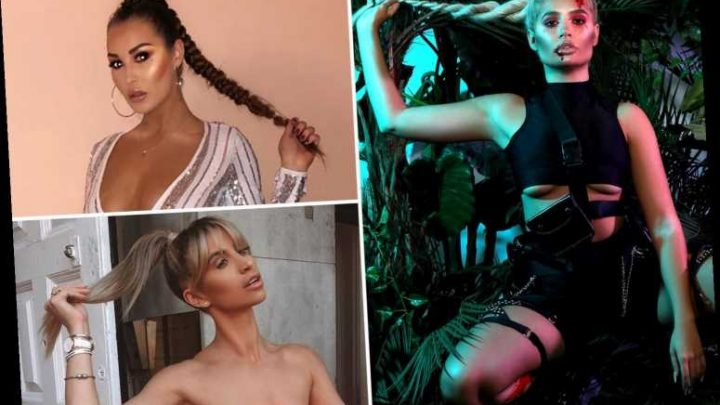 Molly-Mae Hague is a huge fan of the Pony Pose as Instagram stars yank their hair in bizarre new trend – The Sun