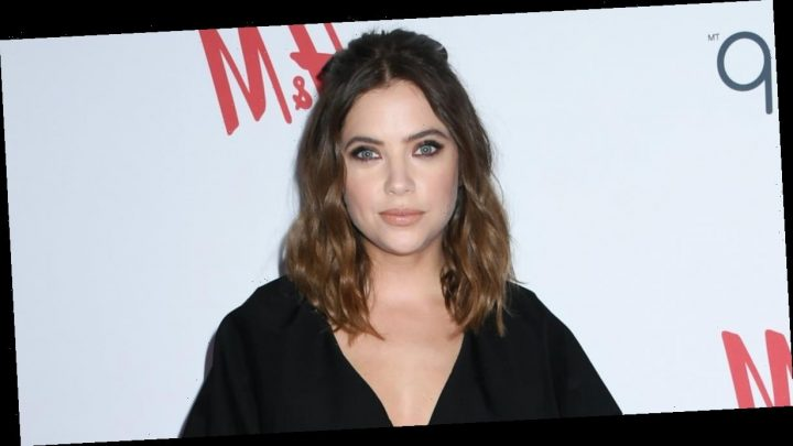 Ashley Benson Supports Girlfriend Cara Delevingne at Nasty Gal Collection Launch