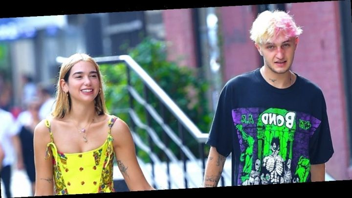 Anwar Hadid Holds Hands With Dua Lipa While Out in NYC