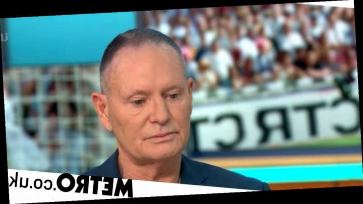Paul Gascoigne fights back tears recalling sexual assault allegation