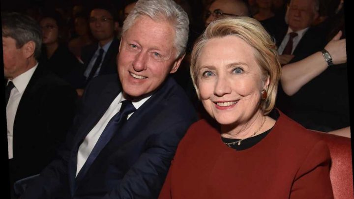 What Bill and Hillary Clinton did during the Democratic debate