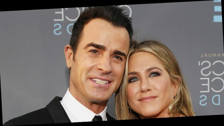Jennifer Aniston Reveals Which of Her Films Justin Theroux Forced Her to Watch While 'Cringing'