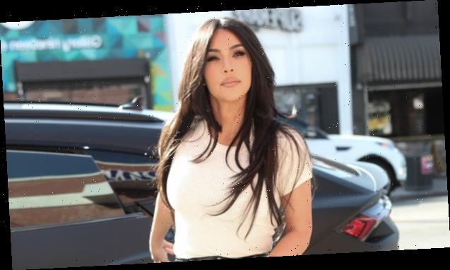 Kim Kardashian Reveals Tiny Waist In Tight Leather Pants & 30 Times The KarJenners Rocked The Look