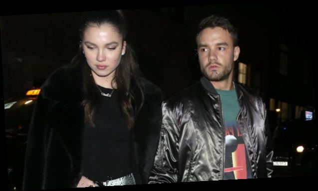 Liam Payne's Romance With Maya Henry, 19, Heats Up As They Share Passionate Kiss During Dinner Date — Pics