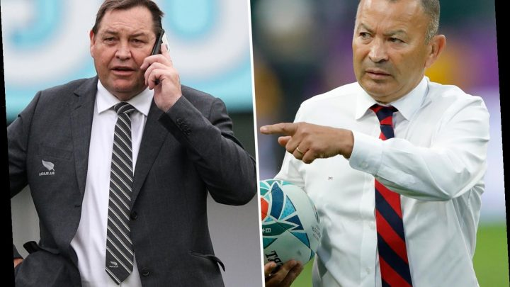 Rugby World Cup: England boss Eddie Jones to KO text chat with All Blacks pal Steve Hansen ahead of semi-final clash – The Sun