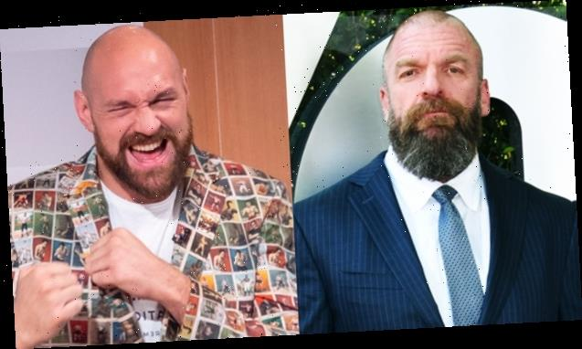 Triple H Reveals If Boxing Champ Tyson Fury Has A Future With WWE After Match At Crown Jewel