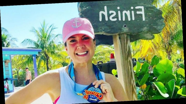 Here's what it's like to run the only organized private-island 5K in the world