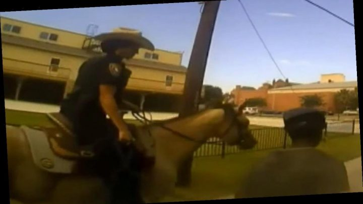 Texas arrest where handcuffed suspect was led by rope would 'look so bad,' officer says