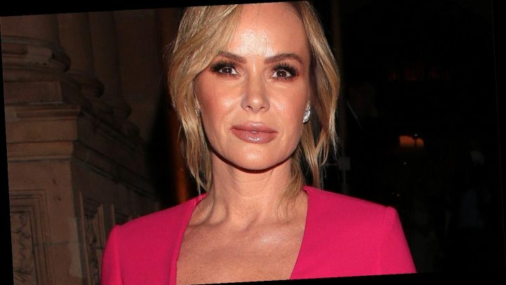 Amanda Holden suffers major wardrobe malfunction