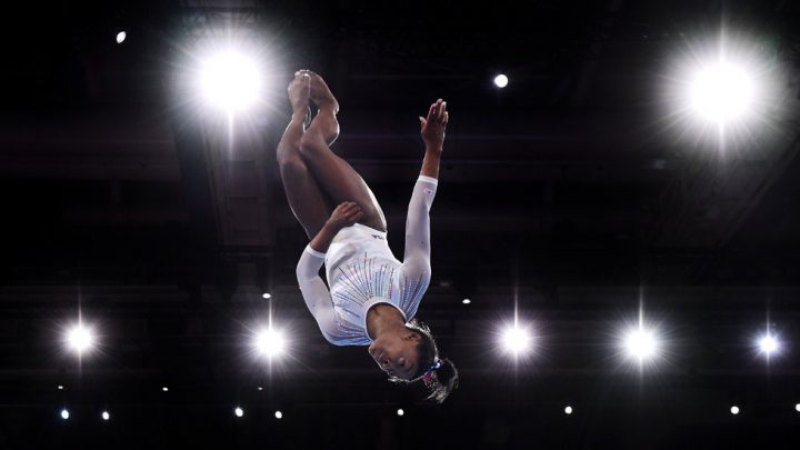 Simone Biles Breezes to 5th World All-Around Title