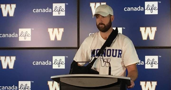 Winnipeg Blue Bombers QB Matt Nichols remains optimistic despite season-ending injury