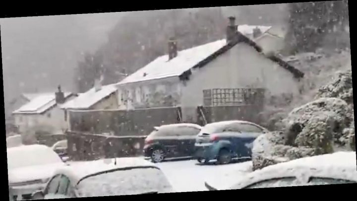 Snow and ice to slam UK before more heavy rain swamps flood-ravaged towns