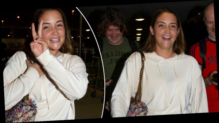 Jacqueline Jossa arrives in Australia ahead of 'I'm A Celebrity stint' – but says she's on a girls' trip