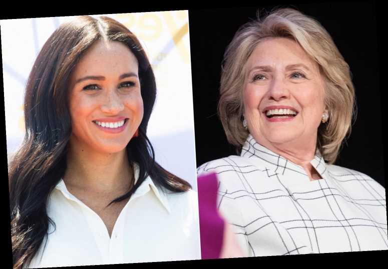 Hillary Clinton's former aide behind Meghan Markle meeting