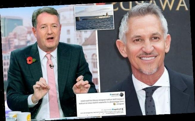 Gary Lineker says he would scrap Trident