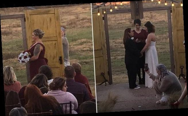 Infuriated wedding guest reveals stranger appeared in bride's photos