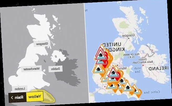More floods and power cuts are on the way as torrential rain sweeps UK