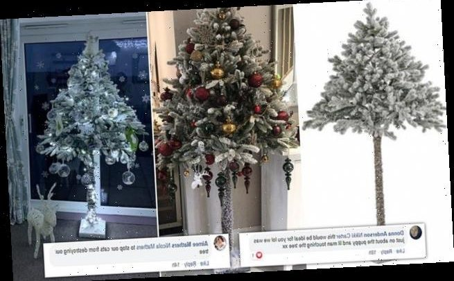 Parents go crazy for £45 Argos Christmas tree that 6ft tall