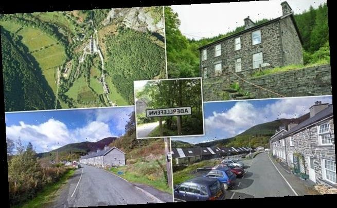 Entire historic Welsh hamlet of 16 houses and surrounding land on sale