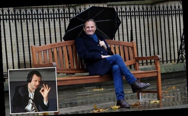 Radio 2 DJ Mark Radcliffe unveils his own memorial bench